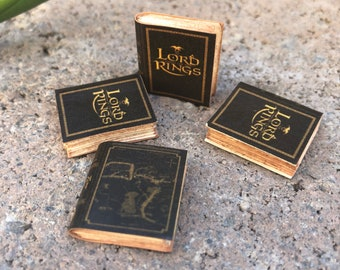 Lord of the Rings by J.R.R. Tolkien Classic Miniature Book - 1:12 (CB1)