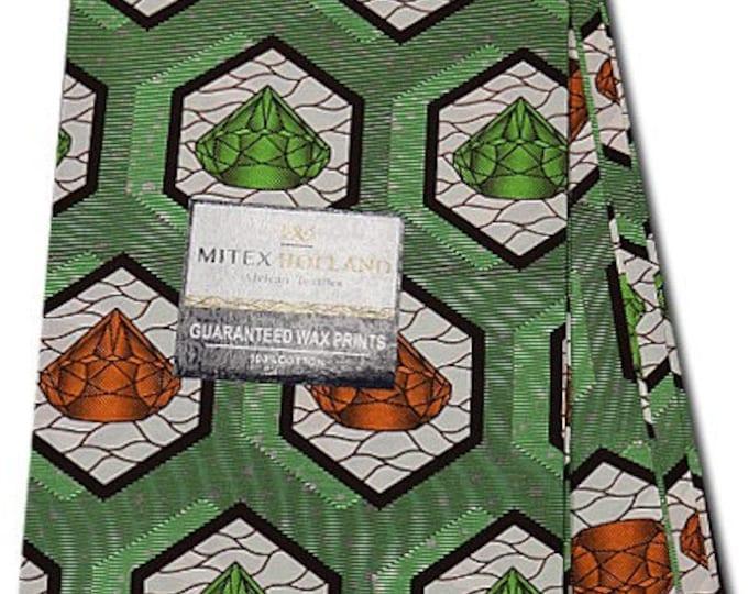 6 YARDS African Fabrics Mitex Holland Dutch Block Wax Print, Fabrics For  Craft /Sewing and Dress Making Kitenge/Pagnes/Ankara /Chitenge NEW