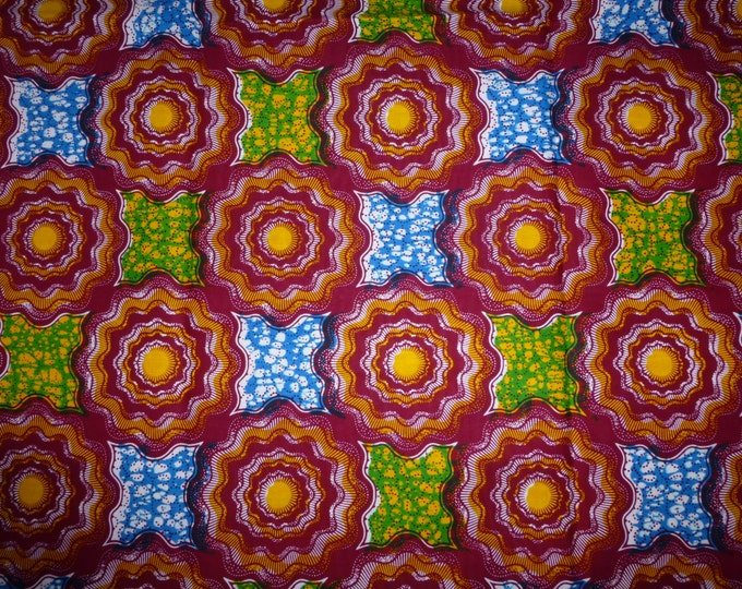 Mitex Holland Wax Print Fabrics For Sewing, Fabrics For Dress Making Kitenge/Pagnes/Tissues Africain/Chitenge 162027291181