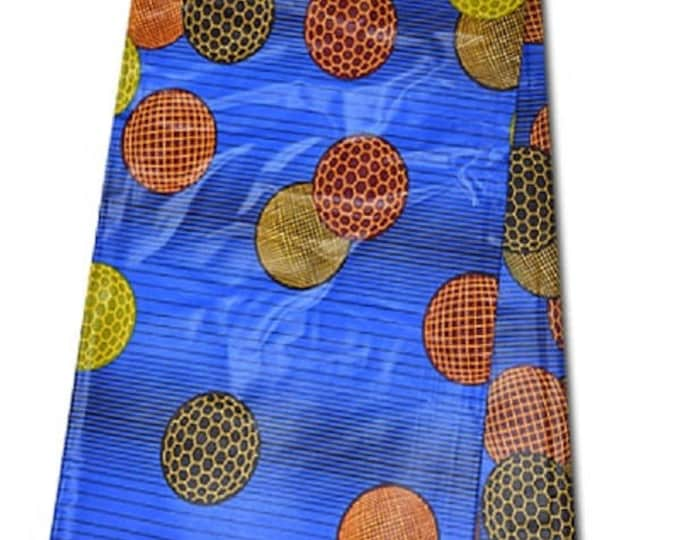 6 YARDS African Fabrics Java Block Wax Print Fabrics For Dresses& Craft Making /African Ankara Print Craft Fabric Bold Colour