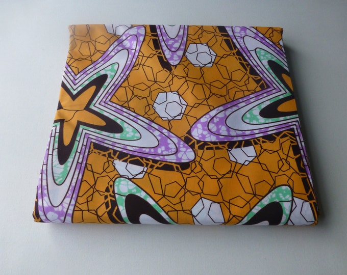 African Fabrics Block Wax Print Fabrics For Sewing,Kitenge/Pagnes/Ankara Sold By FAT QUARTER