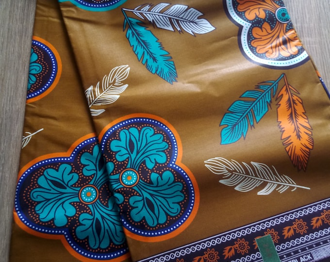 1 YARD African Ankara Java Fabrics Print For Craft Making Dresses Skirts/Cotton Fabric/Kitenge Pagnes Chitenge/ Suitable For Men and Women