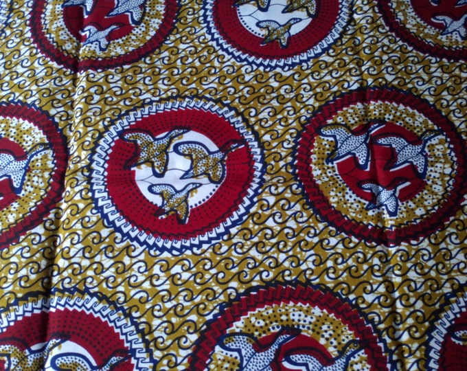 AfricanFabrics100% CottonJulius Holland Block Wax Print Sold By Yard161407873118