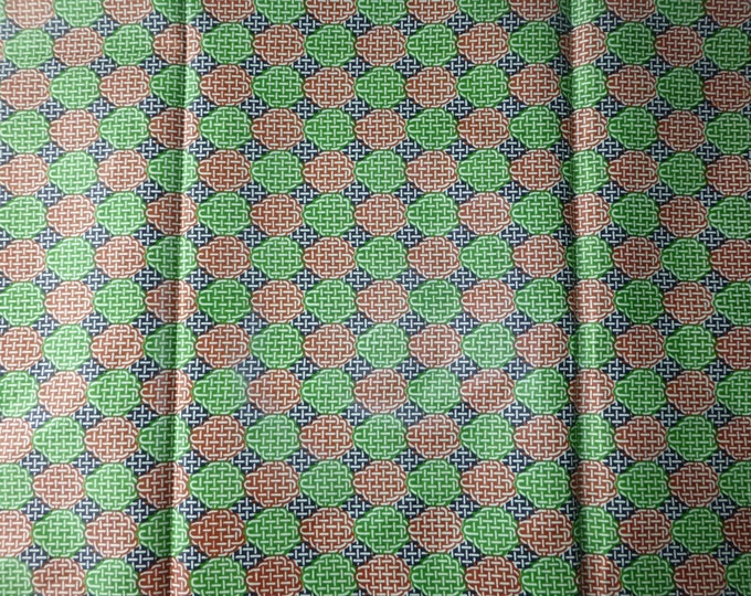 African Fabrics Cotton Wax Print African Fabric For Dressmakings/Fabric for Sewing Dresses, Skirts,Sold By The Yard