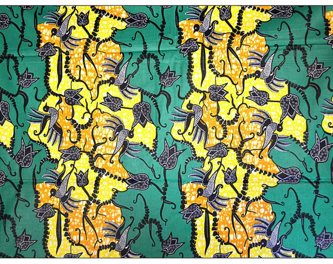 African Fabrics Super Wax Print Fabrics For Sewing, Fabrics For Dress Making Kitenge/Pagnes/Ankara /ChitengeSold By The Yard 152182122721