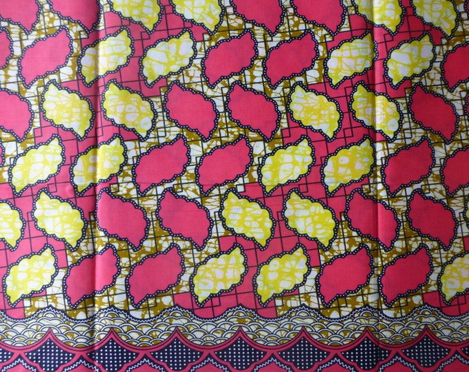 African Cloth Cotton Fabric For Dressmaking and Craft Making/Ankara Print Sold By The Yard152201209477