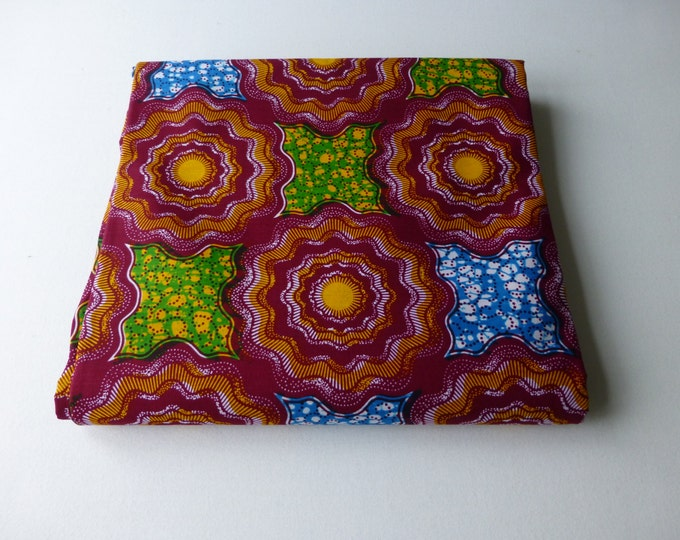 African Wax Print Fabrics Block / Fabric For Dressmakings/Fabric for Sewing Dresses Sold By FAT QUARTER