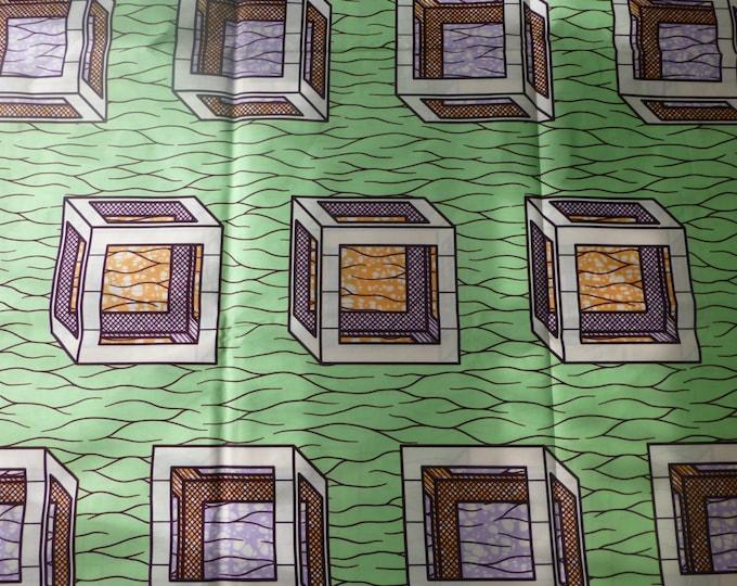 Julius Holland Wax Print African 100% Cotton Fabrics Kitenge/Chitenge/Lapa/Kikwembe/Pagnes Sold By The Yard  152158983520