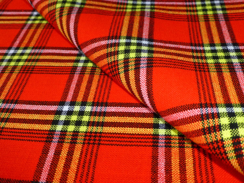African Fabrics Masai Maasai Shuka Sarong Bed Table Throw Blanket