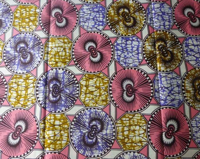 African Print Cotton Fabric For Dressmaking and Craft Making/Ankara Print Sold By The Yard162165294476