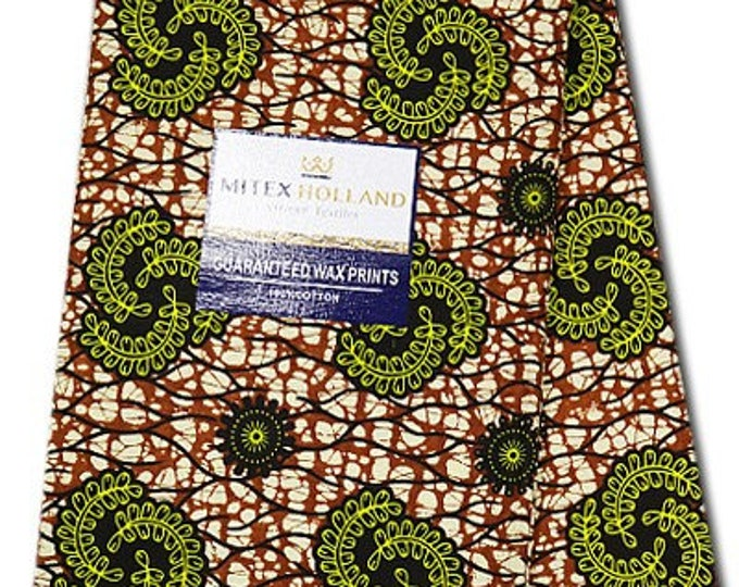 6 Yards African Fabrics Mitex Holland Dutch Block Wax Print, Fabrics For  Craft /Sewing and Dress Making Kitenge/Pagnes/Ankara /Chitenge