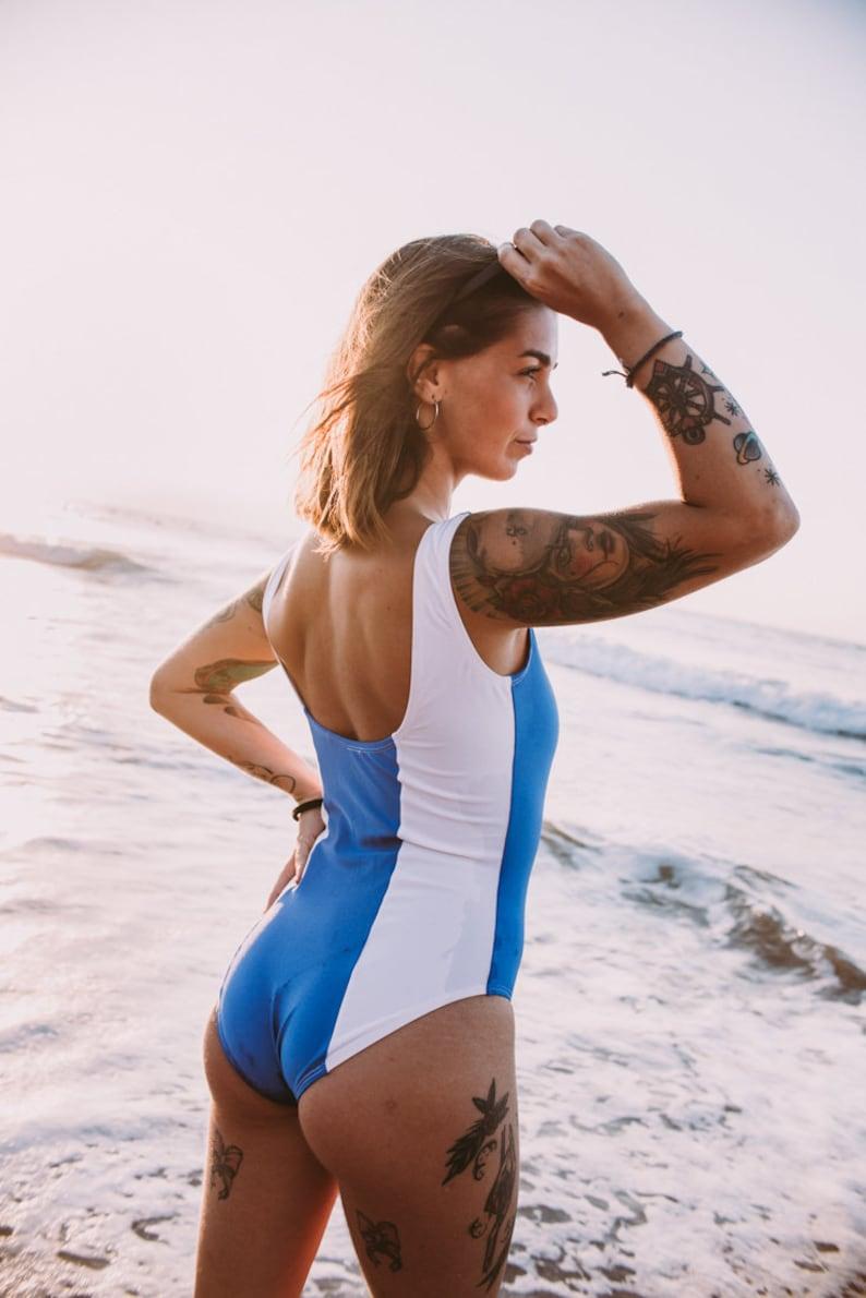 03ceb20eab Ami Mizuno Swimsuit Swimwear Swim Suit Sailor Mercury | Etsy