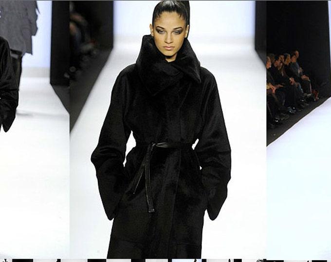 Featured listing image: Irina Shabayeva Signature Oversize Coat with back braided details.