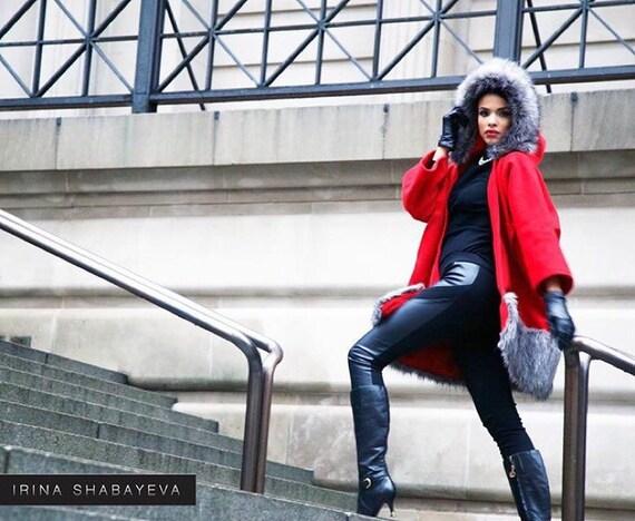 Irina Shabayeva Signature Oversize Kimono coat