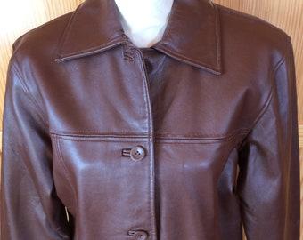 7738b7f33a Vintage Leather Jacket