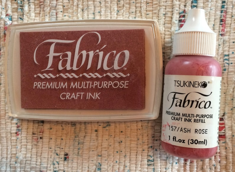 Stamp Ink Pad And Fabric Fabrico Craft Scrapbooking