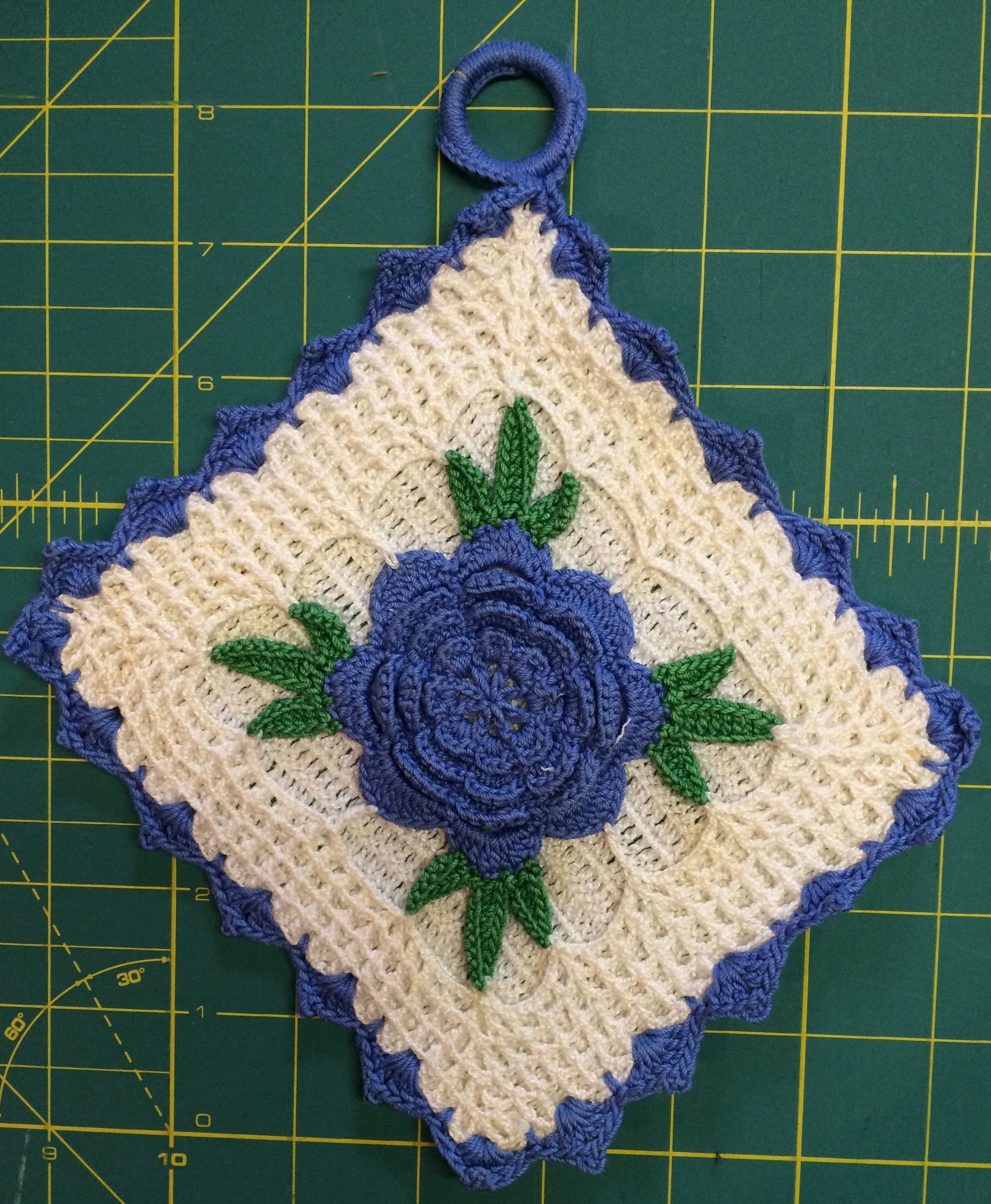 Handmade Pot Holder Kitchen Hot Pads Crochet Potholder Etsy