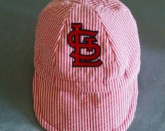 652c6a7cd22 Baby baseball cap for St Louis fans.
