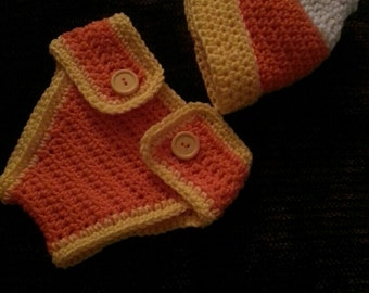 Candy corn Crochet set