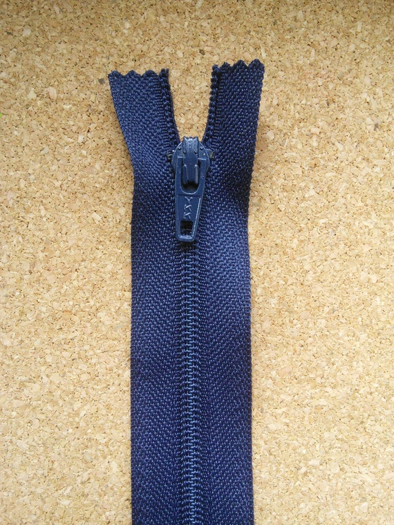 YKK Zip Antique Gold NAVY Closed End 5 Heavy Weight Zipper Clothes Fastening