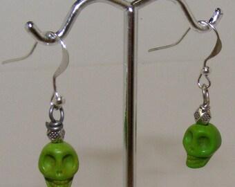 Skull  statement Earrings
