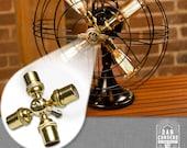 Fan Lamp Kit   DIY Kit   How To   Lamp Parts   Lamp Supplies   Guide   Parts   Tutorial Fan Lamp