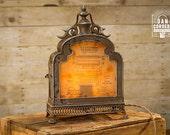Vintage Typewriter Patent Lantern Table Lamp - Desk Lamp - Night Stand - Desk Lamp - Bed Night - Industrial