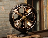 Radio Speaker Table Lamp   Desk Lamp   Antique   Steampunk   Atwater Kent   Industrial   Bed Light   Night Light   Light   Lamp   Large Size