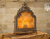 Harley Davidson Motorcycle Patent Table Lamp | Harley Davidson | Desk Lamp | Night Stand | Biker | Vintage
