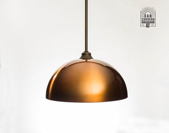 Pendant Light Fixture Edison Bulb Oil Rubbed Bronze Pendant Kitchen Light Pendant Light Edison Light Bulb Copper Dome Shade