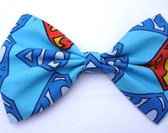 89c3a462dd28 Fabric dog bowtie-dog collar bow tie- dog harness bow tie- handmade bow  tie- superhero bow tie- superhero tie- dog bowtie- doggie bowtie
