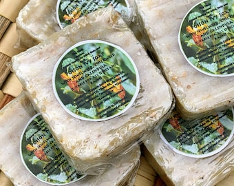 Jewelweed Poison Ivy Treatment Soap, 2.5oz bar, or 1.5oz salve Musts for the Medicine Cabinet, Camping, and Hiking