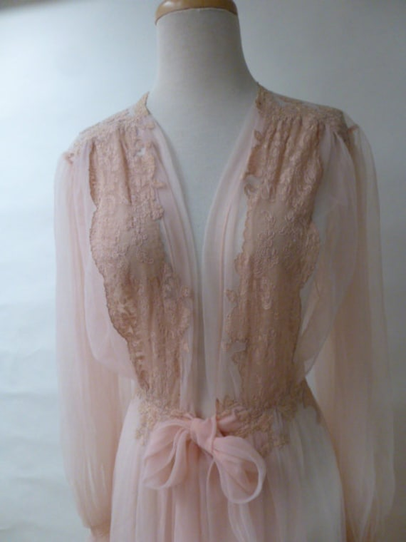 juel park vintage lingerie embroidered lace neglig