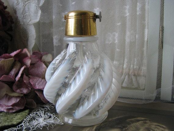 VINTAGE DEPRESSION GLASS Perfume Bottle