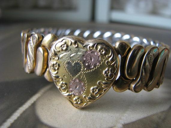 Vintage Pittman Expansion Bracelet, Vintage Sweeth
