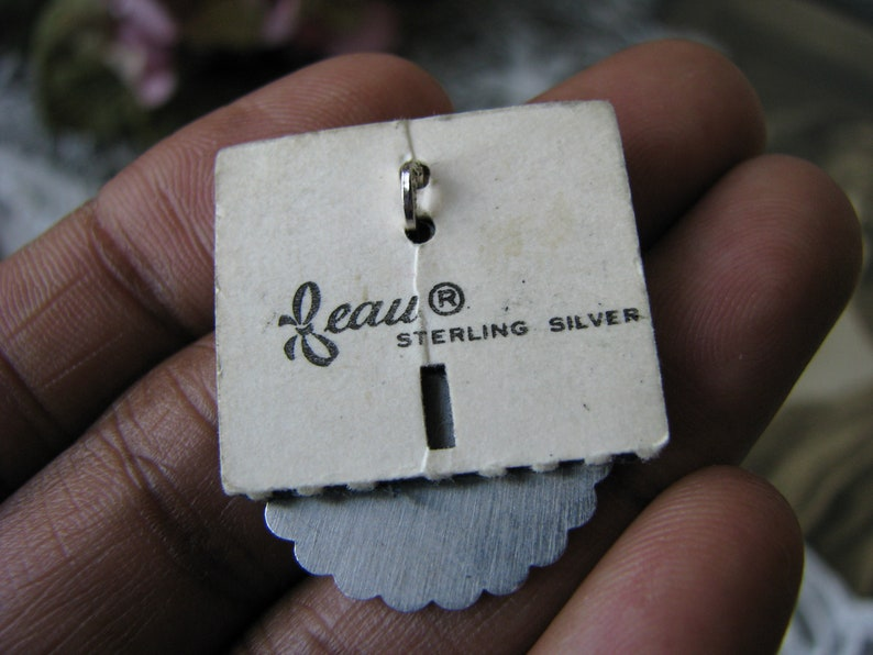 Sterling Silver Mother Pendant Vintage Mother Pendant BEAU Sterling Silver Pendant