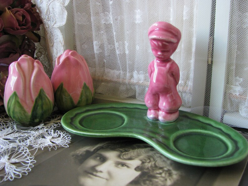 Gifts For Brides Franciscan Salt Pepper Mother/'s Day Gift Vintage Franciscan Pottery Franciscan Desert Rose Salt /& Pepper