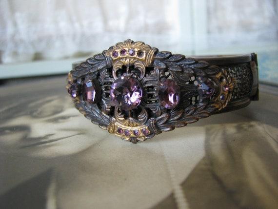 Victorian Paste Bracelet, Antique Paste Bracelet,