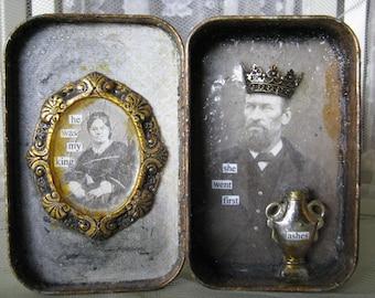 Altered Tin Victorian Grunge