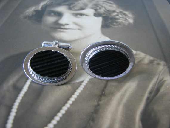 Gifts For him, Sterling Silver DESTINO Cuff Links,