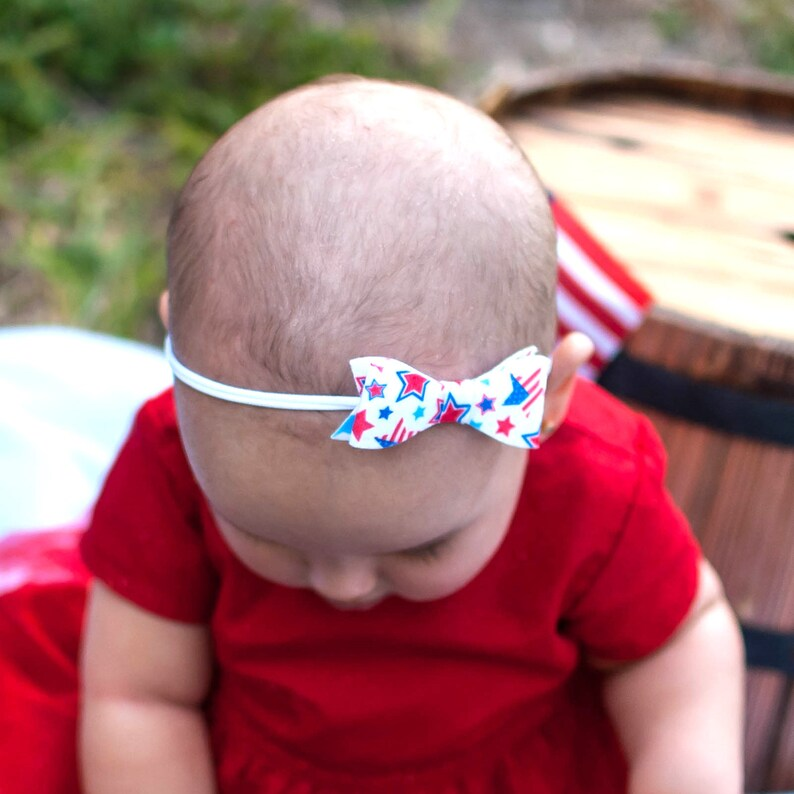 4th of July Headband  4th of July Baby Headband  4th of July image 0