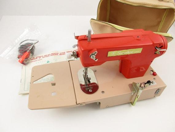 A 'Signature Junior' Sewing Machine Miniature Etsy Unique Signature Sewing Machine