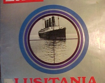 October 13 1972 LIFE Magazine With Lusitania Ship On The Cover Has 94 Pages Of Ads And Articles Great Birthday Gift Idea No3