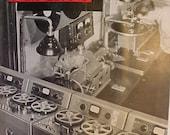 March 1951 Audio Engineering Magazine has 48 pages of ads and articles, Antique Radio,Stereo,Microphone, Amplifier ,Electronics Magazine