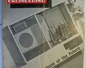 June 1952 Audio Engineering Magazine has 48 pages of ads and articles, Antique Radio,Stereo,Microphone, Amplifier ,Electronics Magazine