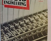 January 1949 Audio Engineering Magazine has 40 pages of ads and articles, Antique Radio,Stereo,Microphone, Amplifier ,Electronics Magazine