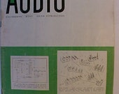 September 1954 Audio Engineering Magazine has 80 pages of ads and articles, Antique Radio,Stereo,Microphone, Amplifier ,Electronics Magazine