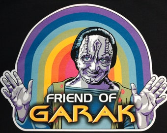 Friend of Garak T-Shirt Star Trek: Deep Space Nine *PREORDER*