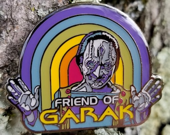 Friend of Garak Enamel Pin Star Trek: Deep Space Nine