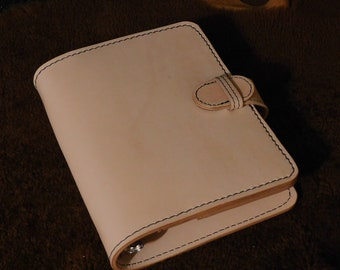 Vintage Style 3-Ring Leather Journal / Notebook / Planner